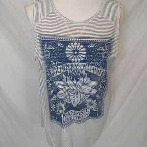 Lucky Brand Journey Within Namaste Tank